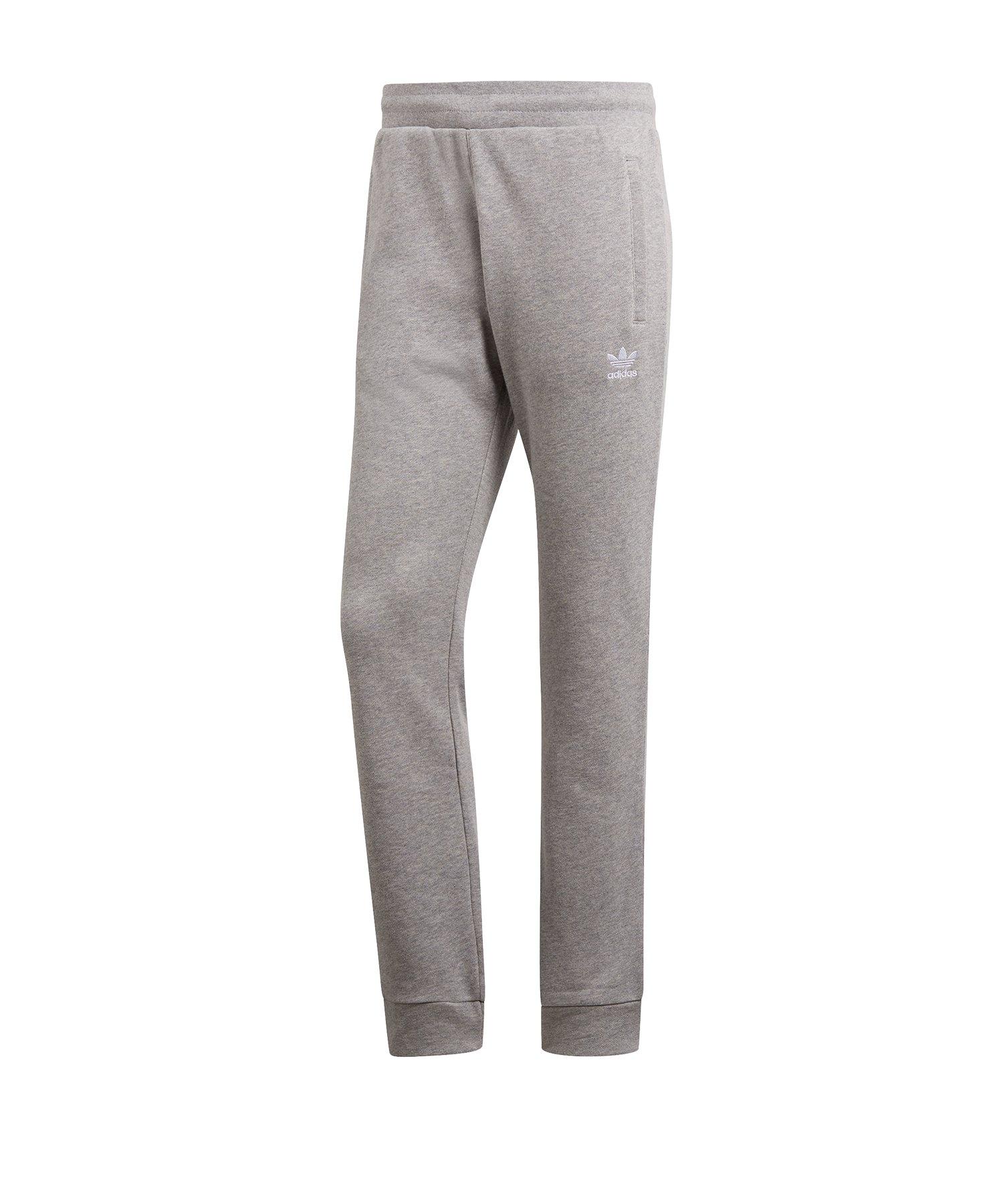 adidas Originals Trefoil Jogginghose Grau