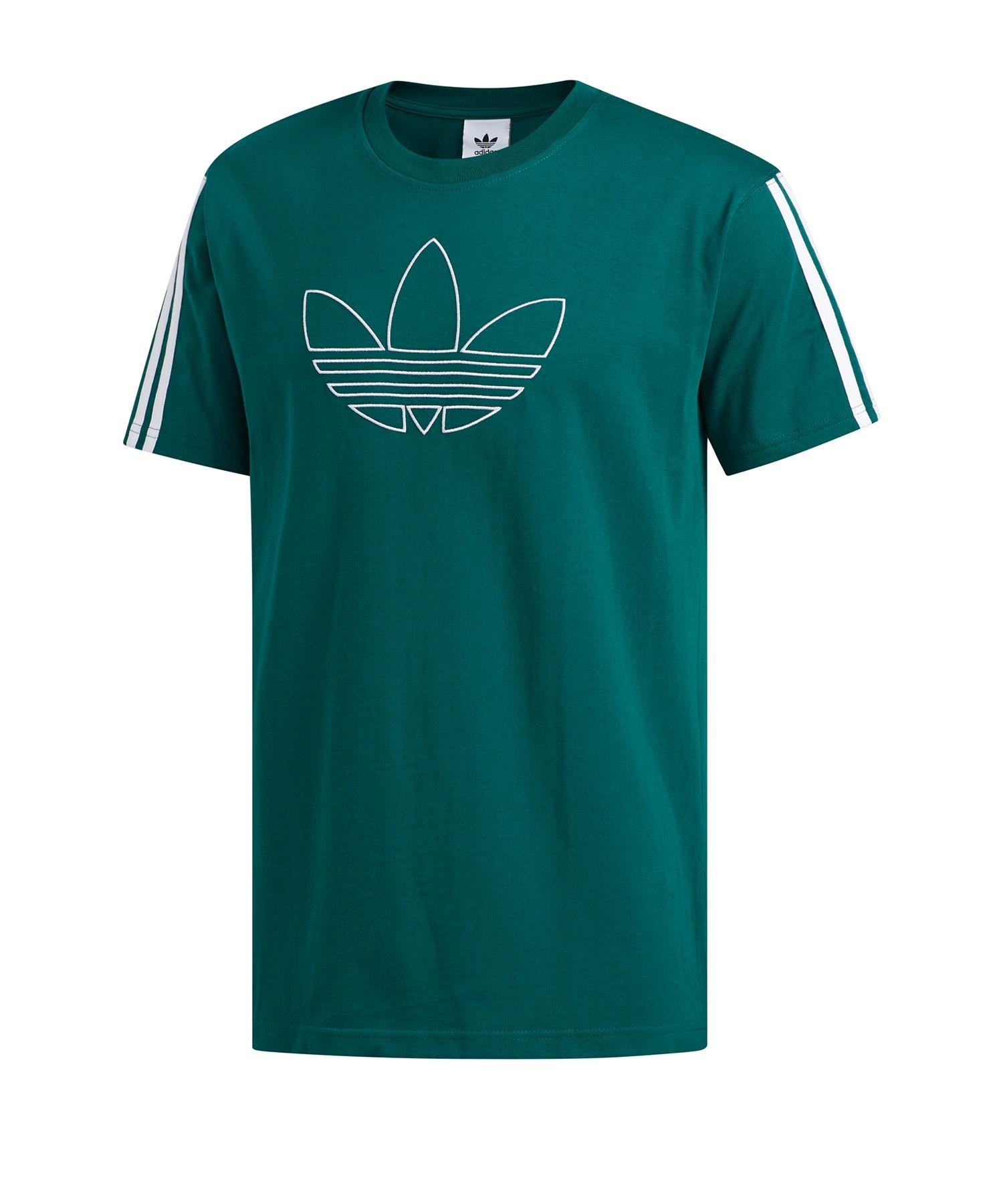 adidas Originals Trefoil T Shirt Grün