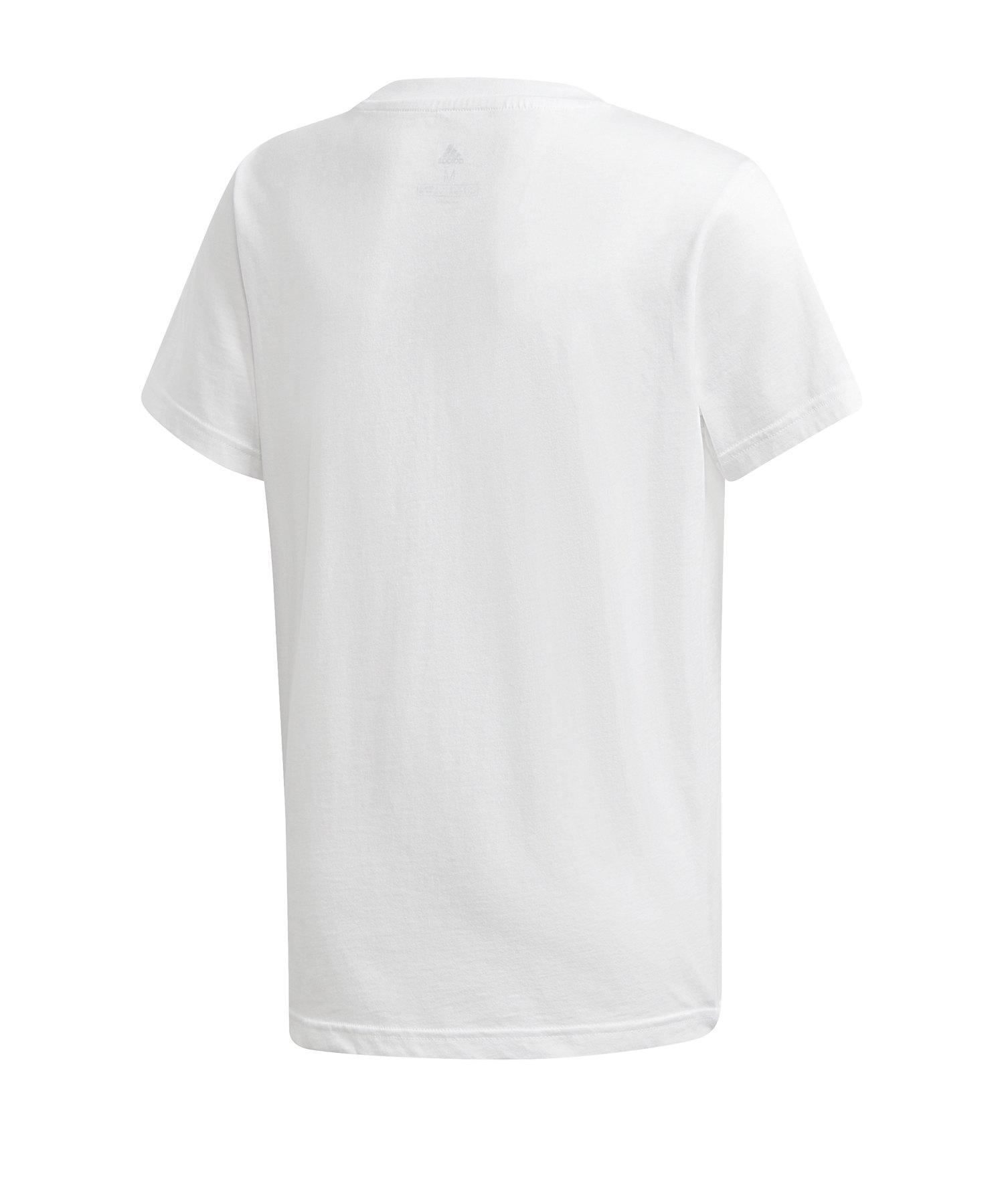adidas Originals Trefoil T Shirt weiß weiß