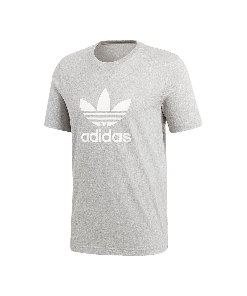 adidas Originals Trefoil Tee T Shirt Grau