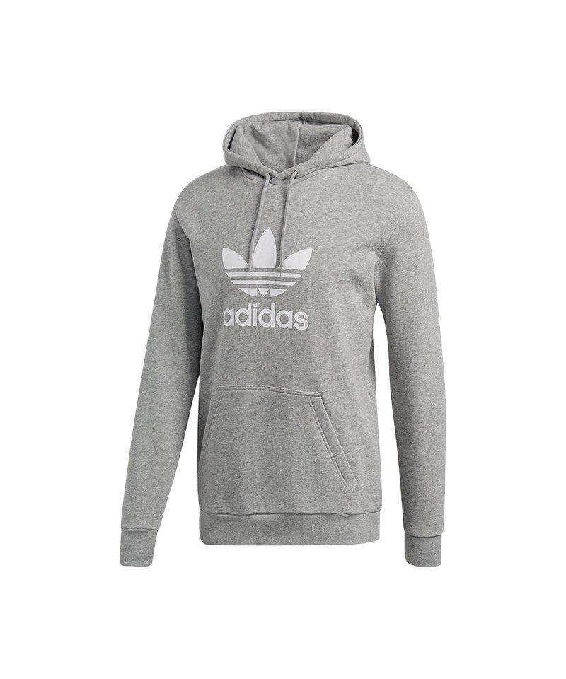 adidas Originals Trefoil Warm Up Hoody Grau