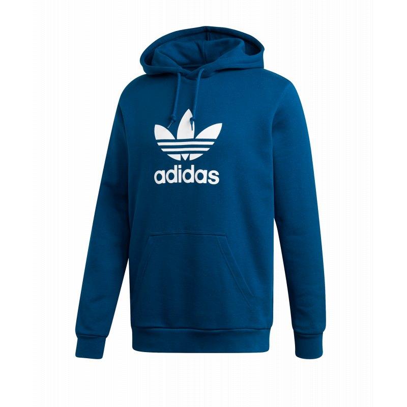 adidas Originals Trefoil Warm Up Kapuzensweat Blau