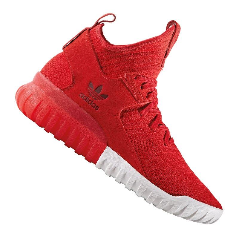 adidas originals tubular x pk sneaker rot schuh shoe. Black Bedroom Furniture Sets. Home Design Ideas