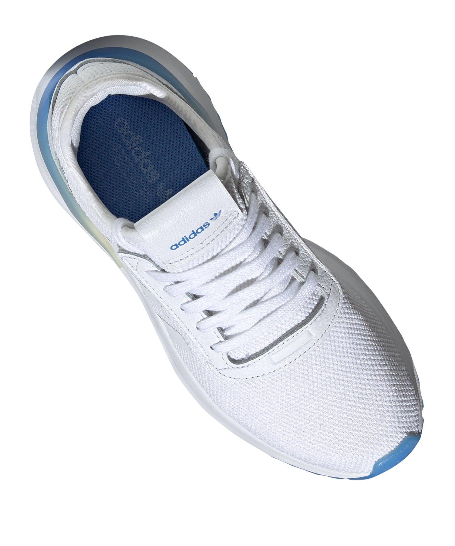 adidas Originals U_Path X Sneaker Damen Weiss Blau