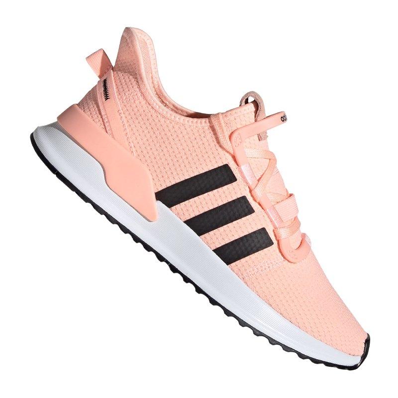 adidas Originals U_Path Sneaker Damen Orange Weiss