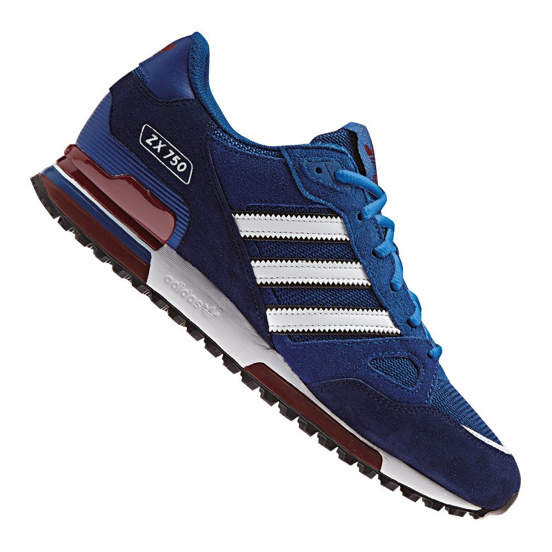 adidas originals zx 750 sneaker blau weiss herren sneaker lifestyle sport. Black Bedroom Furniture Sets. Home Design Ideas