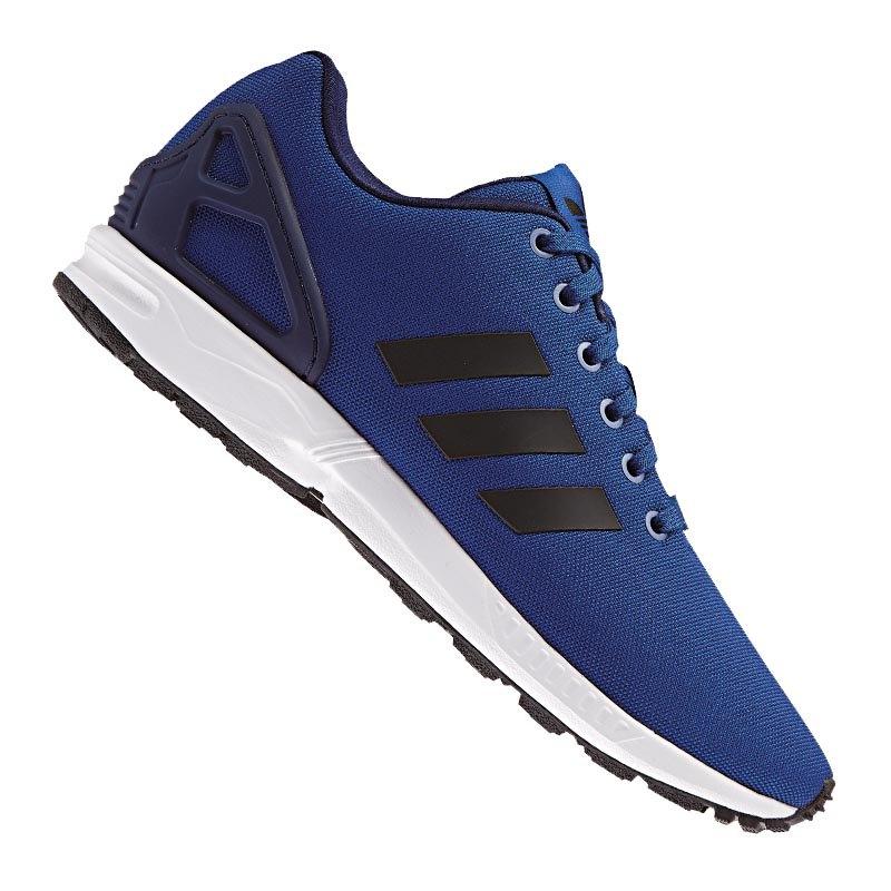 adidas originals zx flux sneaker blau schwarz schuh. Black Bedroom Furniture Sets. Home Design Ideas