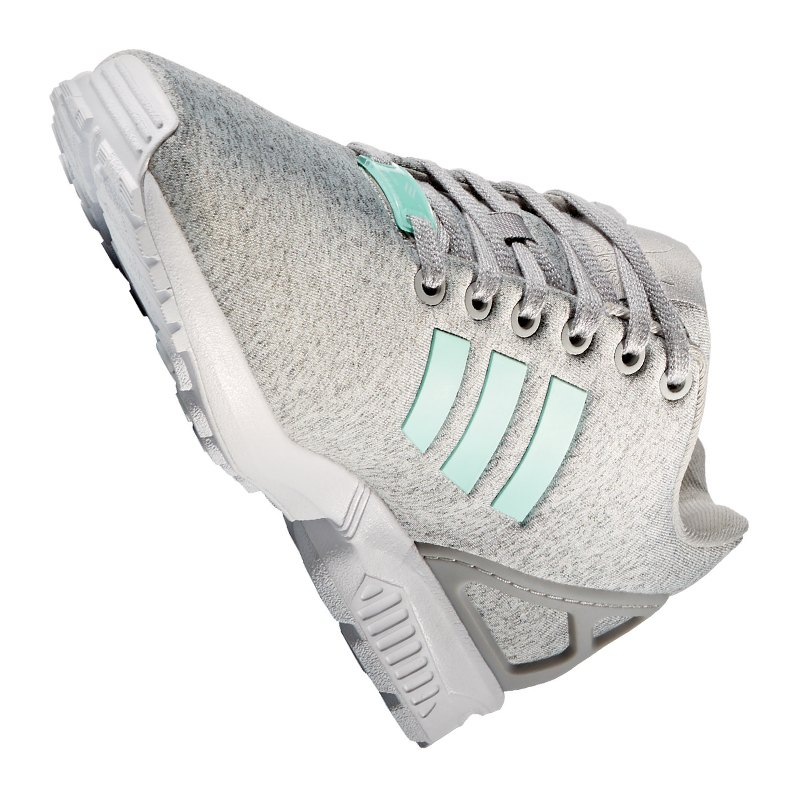 adidas originals zx flux sneaker damen grau lifestyle. Black Bedroom Furniture Sets. Home Design Ideas