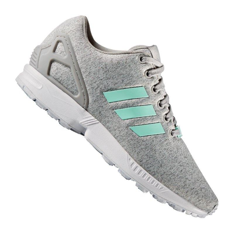 adidas originals zx flux sneaker damen grau lifestyle sneaker shoes damen frauen schuh. Black Bedroom Furniture Sets. Home Design Ideas
