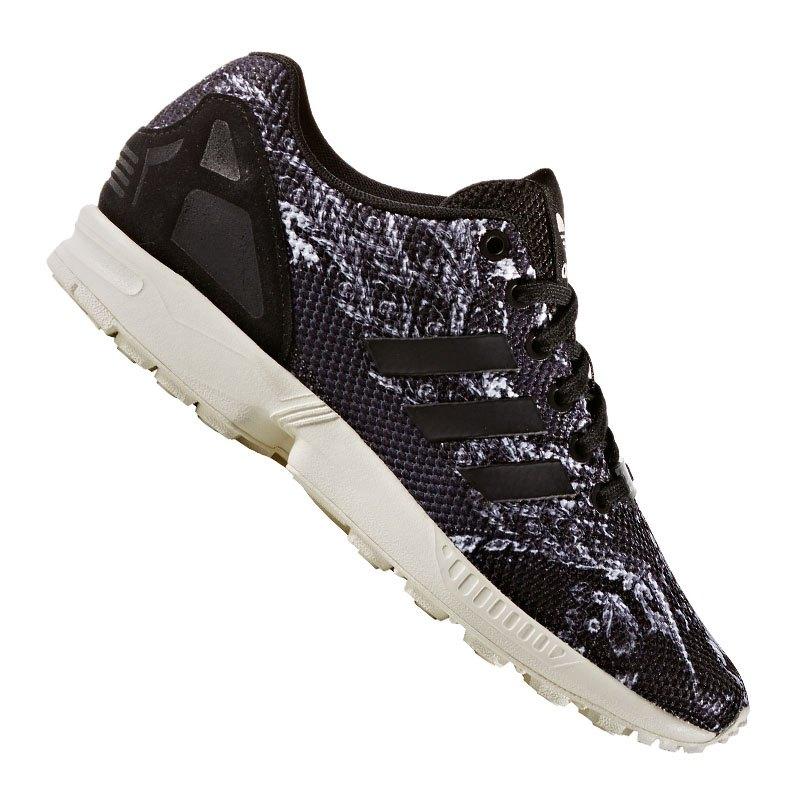 adidas originals zx flux sneaker damen schwarz damensneaker freizeitschuh lifestylesneaker. Black Bedroom Furniture Sets. Home Design Ideas