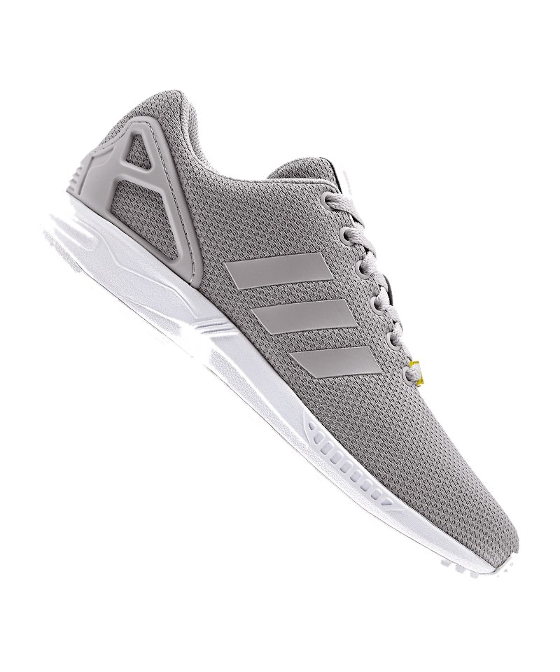 adidas originals zx flux sneaker grau weiss herren. Black Bedroom Furniture Sets. Home Design Ideas