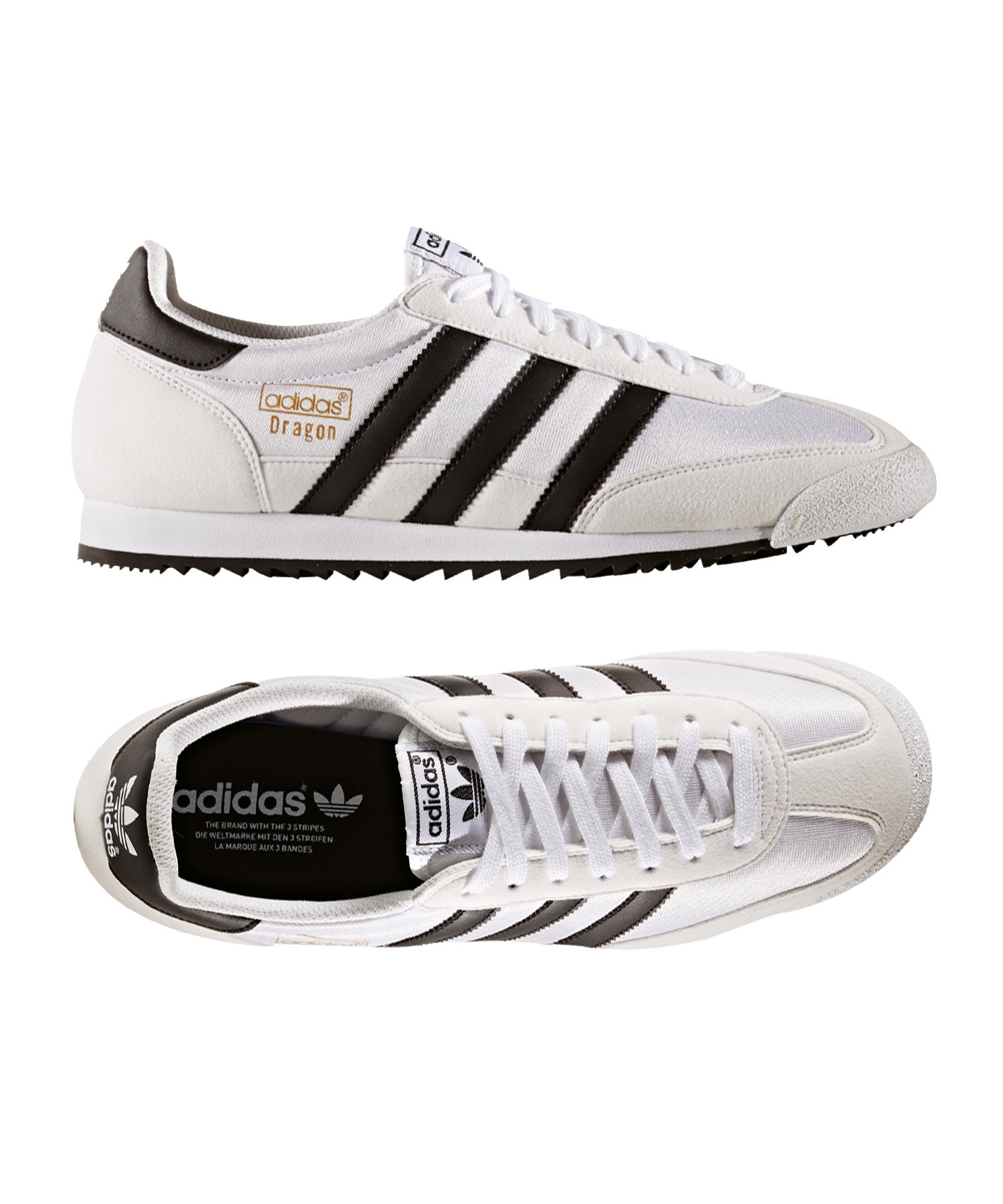 DRAGON OG Schuhe Weiß Adidas Herren Originals Schuhe