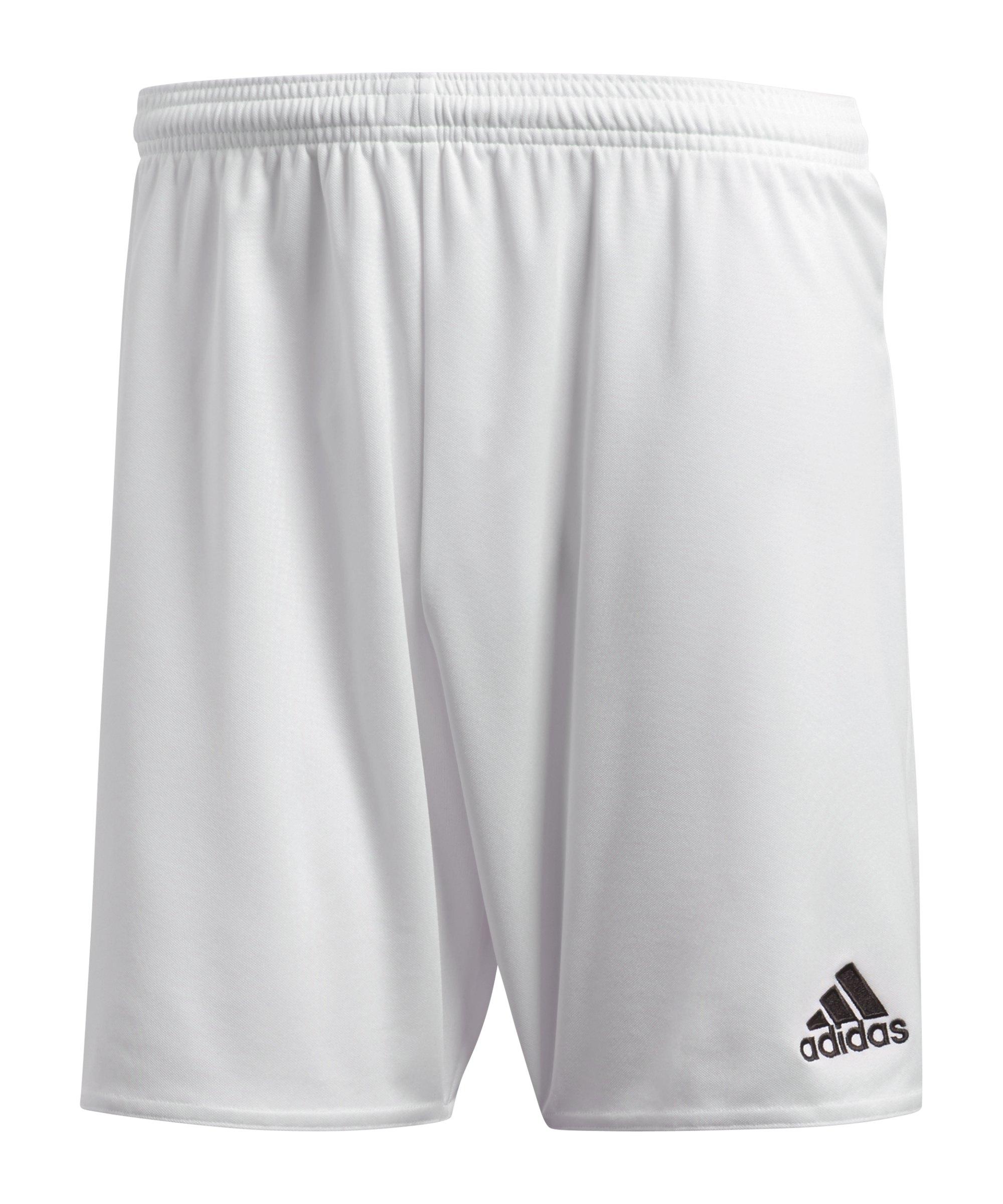 adidas Parma 16 Short ohne Innenslip Weiss