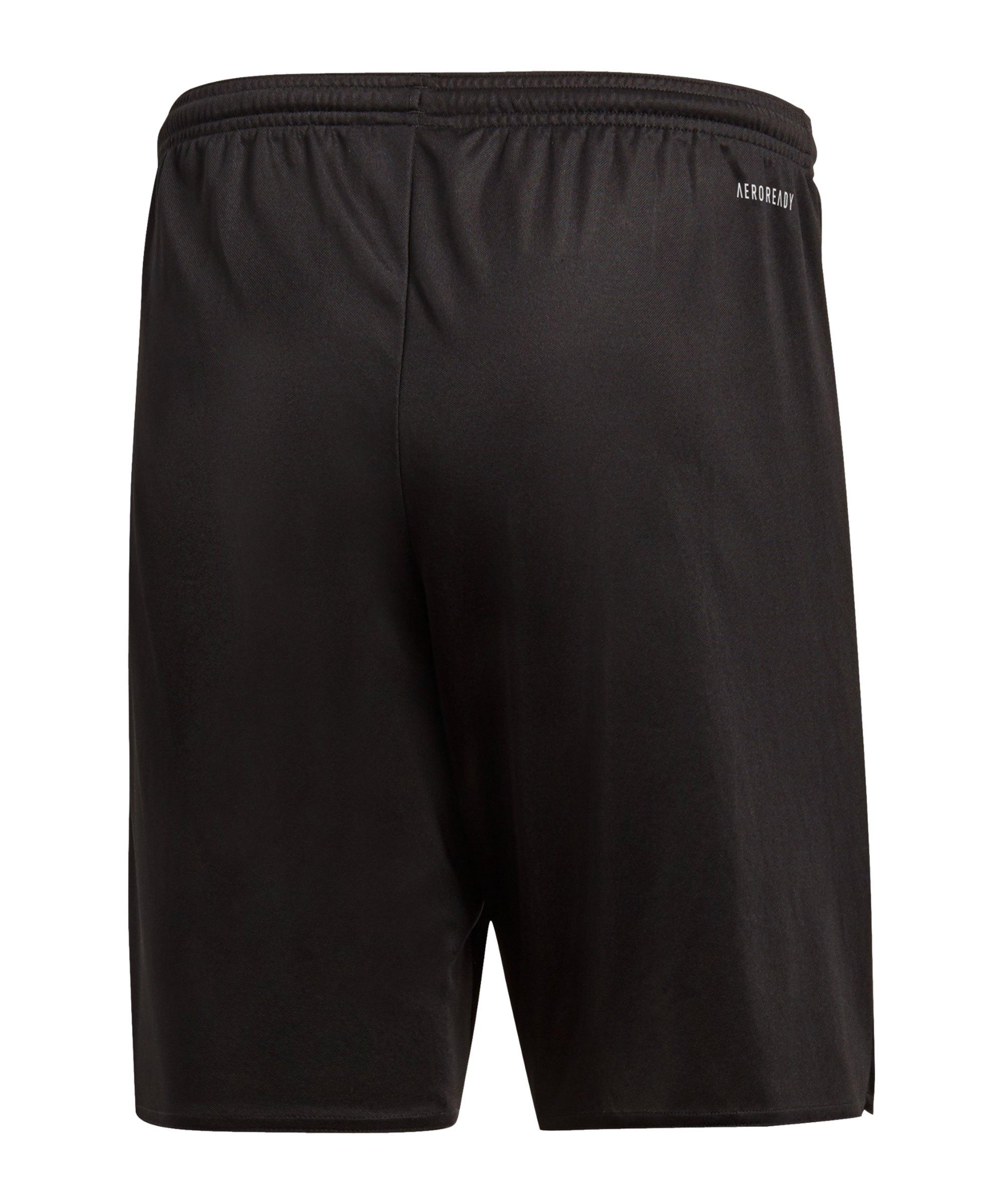 ... adidas Parma 16 Short ohne Innenslip Kids Schwarz - schwarz ... b4651b49b4