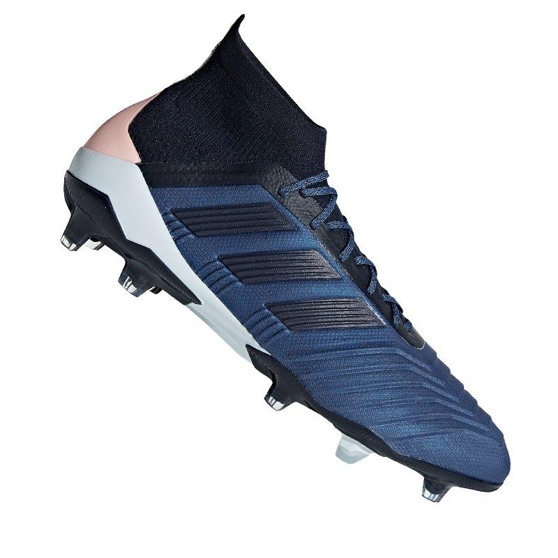 Blau fussballschuhe Adidas Fg Rasen 1 Predator 18 Ballgefühl rFXqcXIS