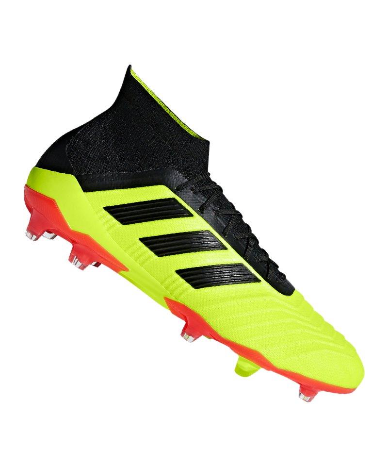 buy online babfd 9e2f3 adidas Predator 18.1 FG Gelb Schwarz - gelb