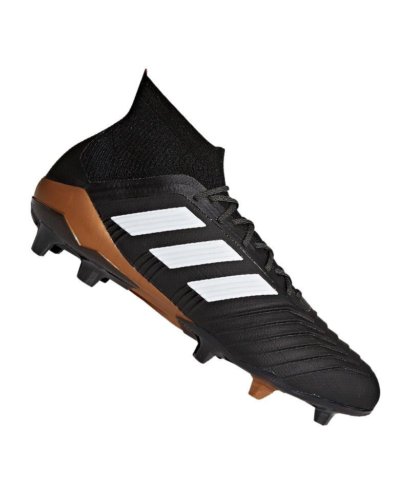 adidas Fußballschuh Predator 18.1 FG schwarzweiß