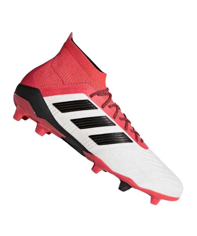 Adidas Predator 18.1 FG Schwarz Weiß Rot