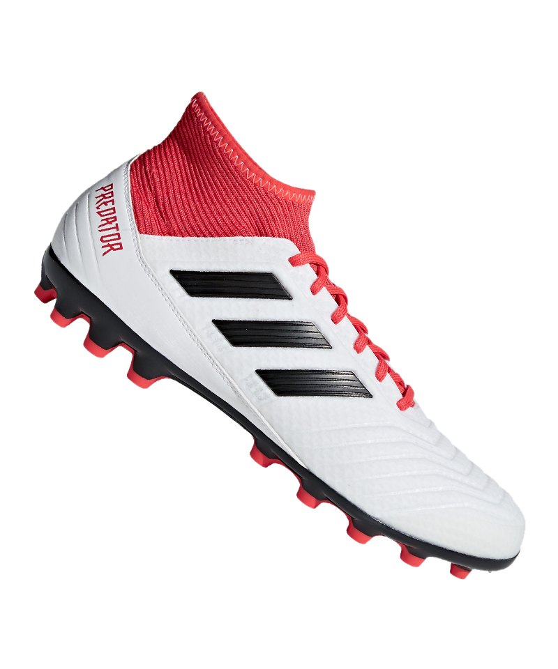 factory authentic fa217 3248b discount adidas predator 18.3 ag weiss rot weiss ad033 3acfa