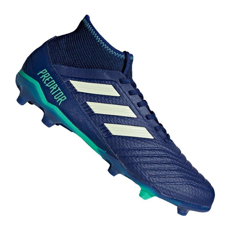 new product 6d86e e94f4 czech fußballschuhe adidas predator 18.3 fg black 1f64e 1abc9 reduced adidas  predator 18.3 fg blau grün blau 2588a dad9f