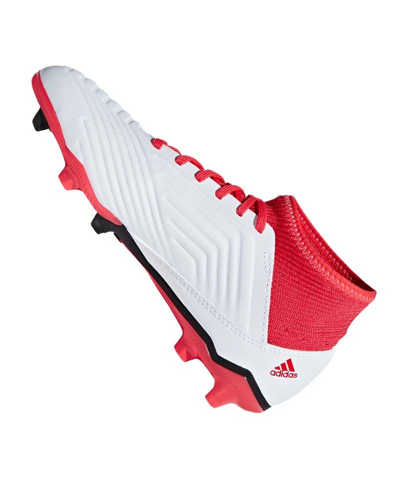 1e8d616dbe07f0 ... adidas Predator 18.3 FG J Kids Weiss Schwarz - weiss ...