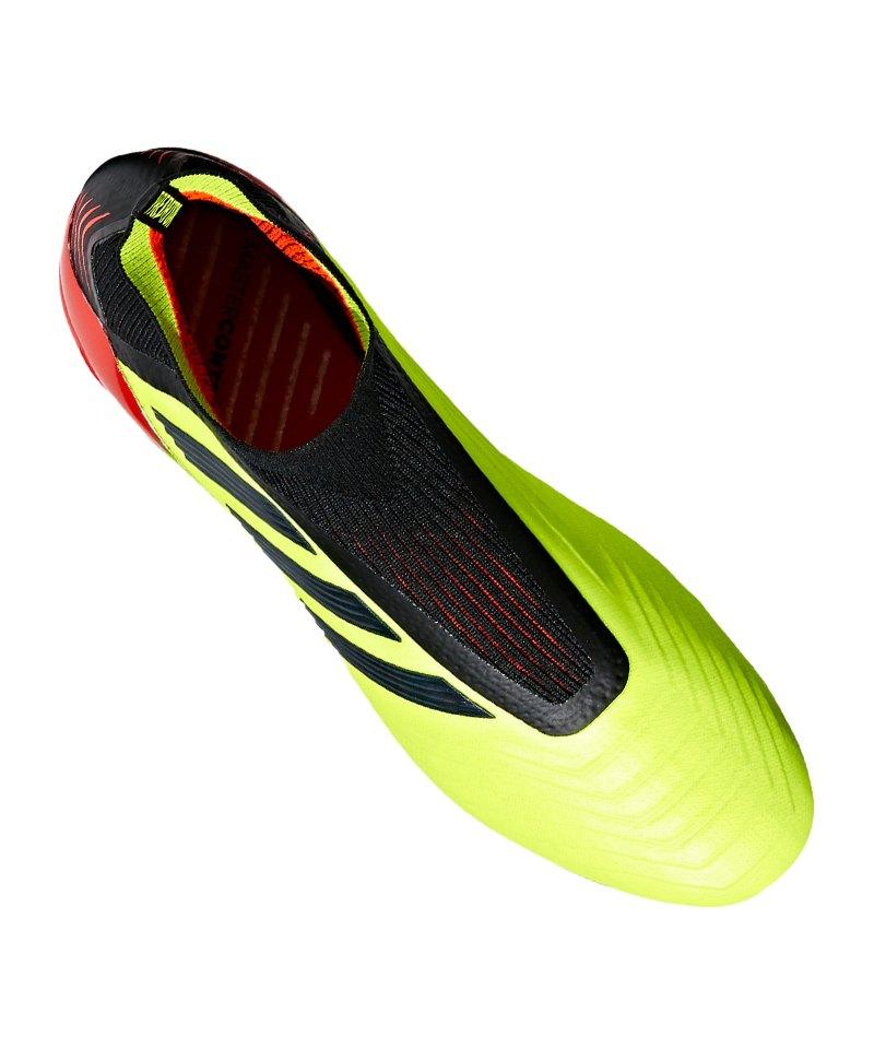 online store 665d2 42a19 ... adidas Predator 18+ FG Gelb Schwarz - gelb ...