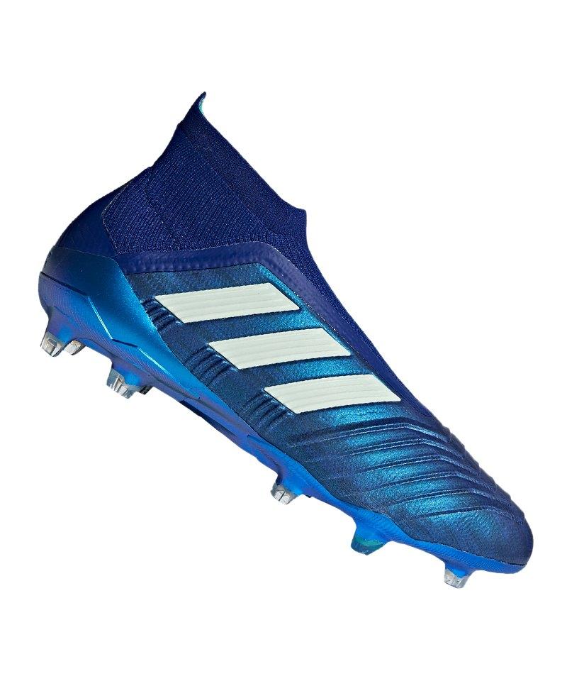 da17f63f0e7910 adidas Predator 18+ FG Blau Grün - blau