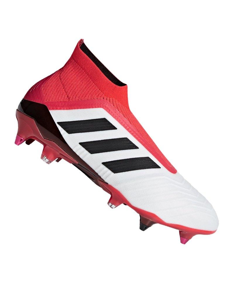 brand new b8a42 41261 adidas Predator 18+ SG Weiss Rot - weiss
