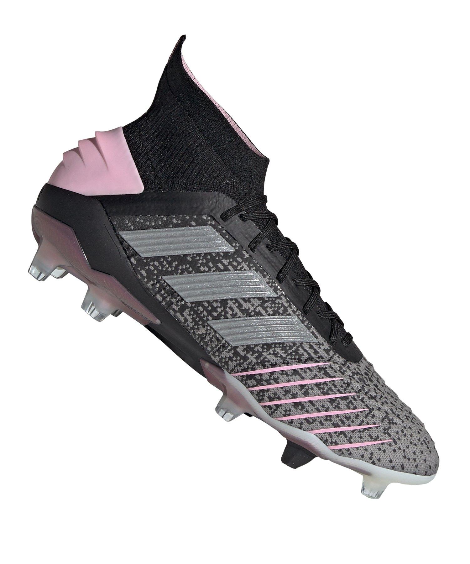 new york 2f4c4 f3e53 adidas Predator 19.1 FG Damen Schwarz Pink - schwarz