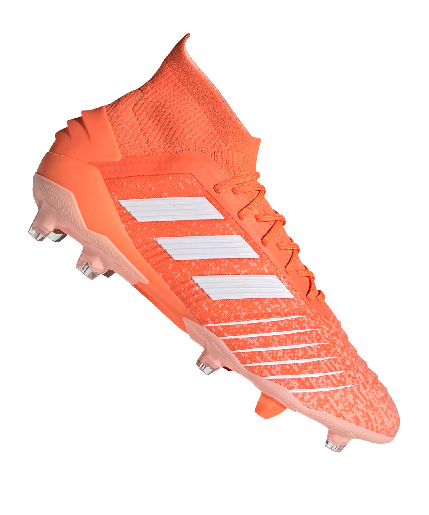 adidas Predator 19.1 FG Damen Orange Weiss