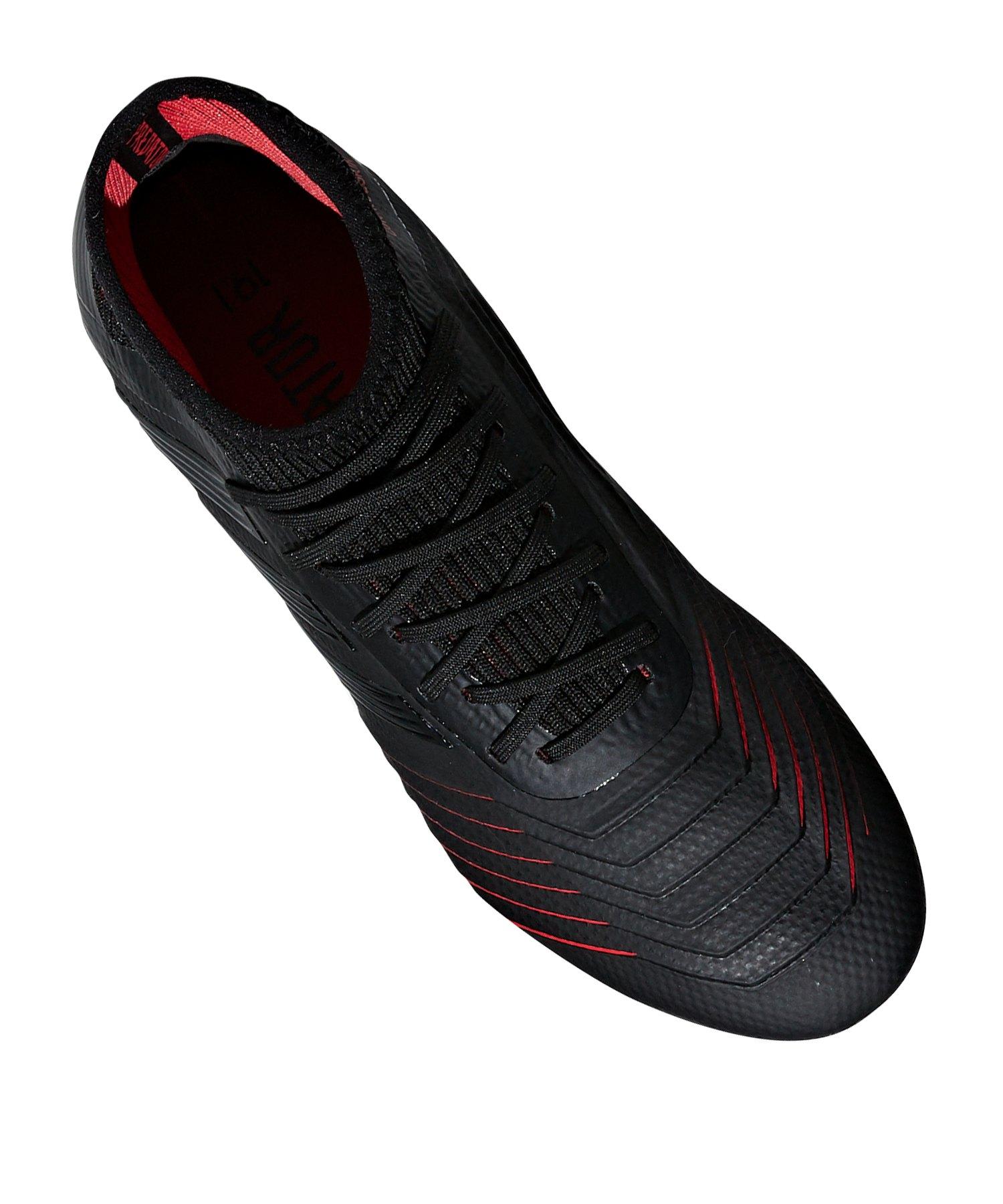 uk availability 99f66 dc4e8 ... adidas Predator 19.1 FG J Kids Schwarz - schwarz ...