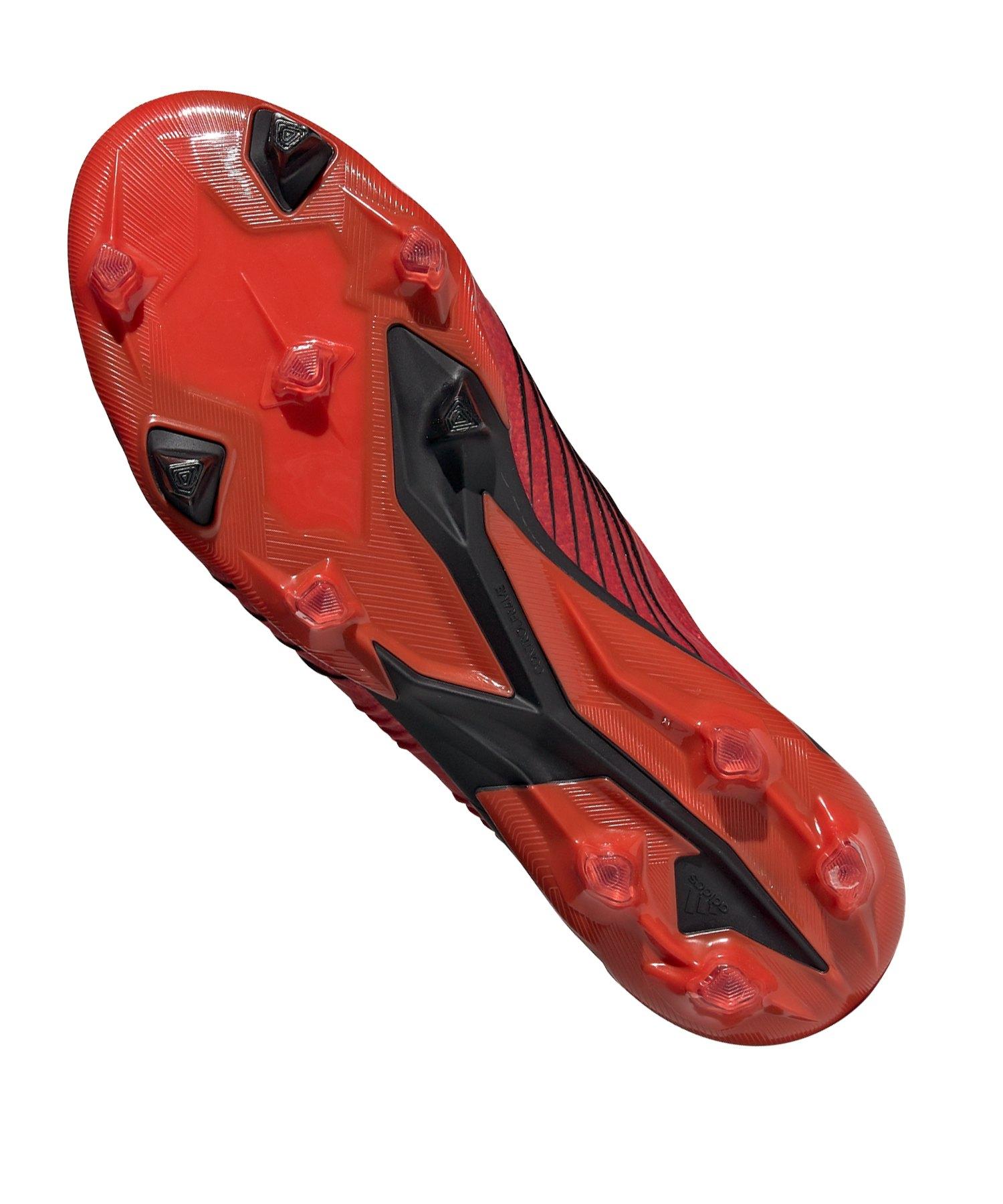 promo code dc8e7 2a5d9 ... adidas Predator 19.1 FG Rot Schwarz - rot ...