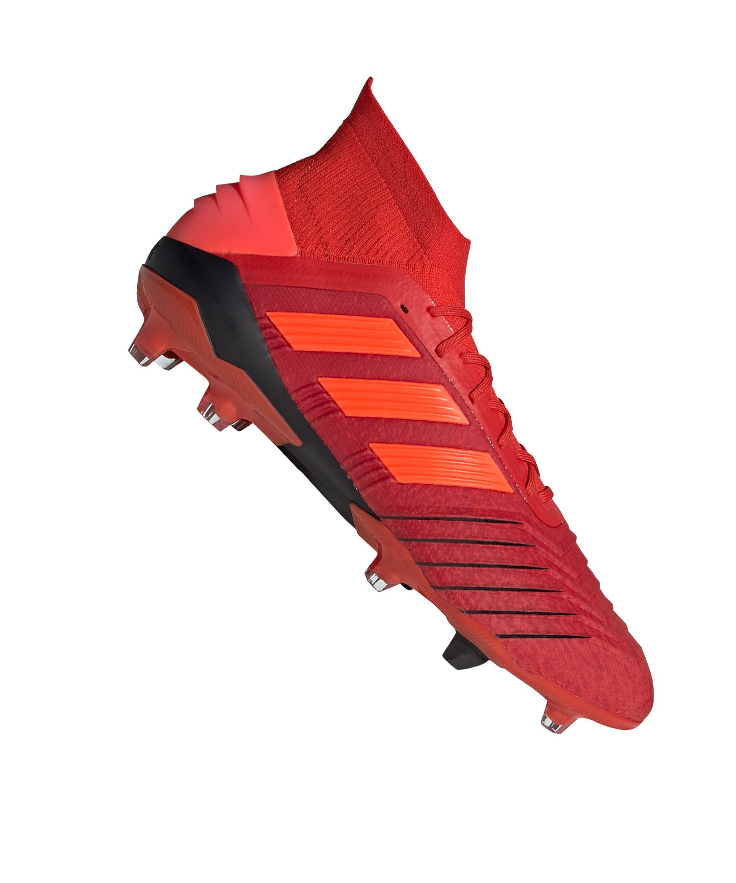 adidas Predator 19.1 FG Rot Schwarz