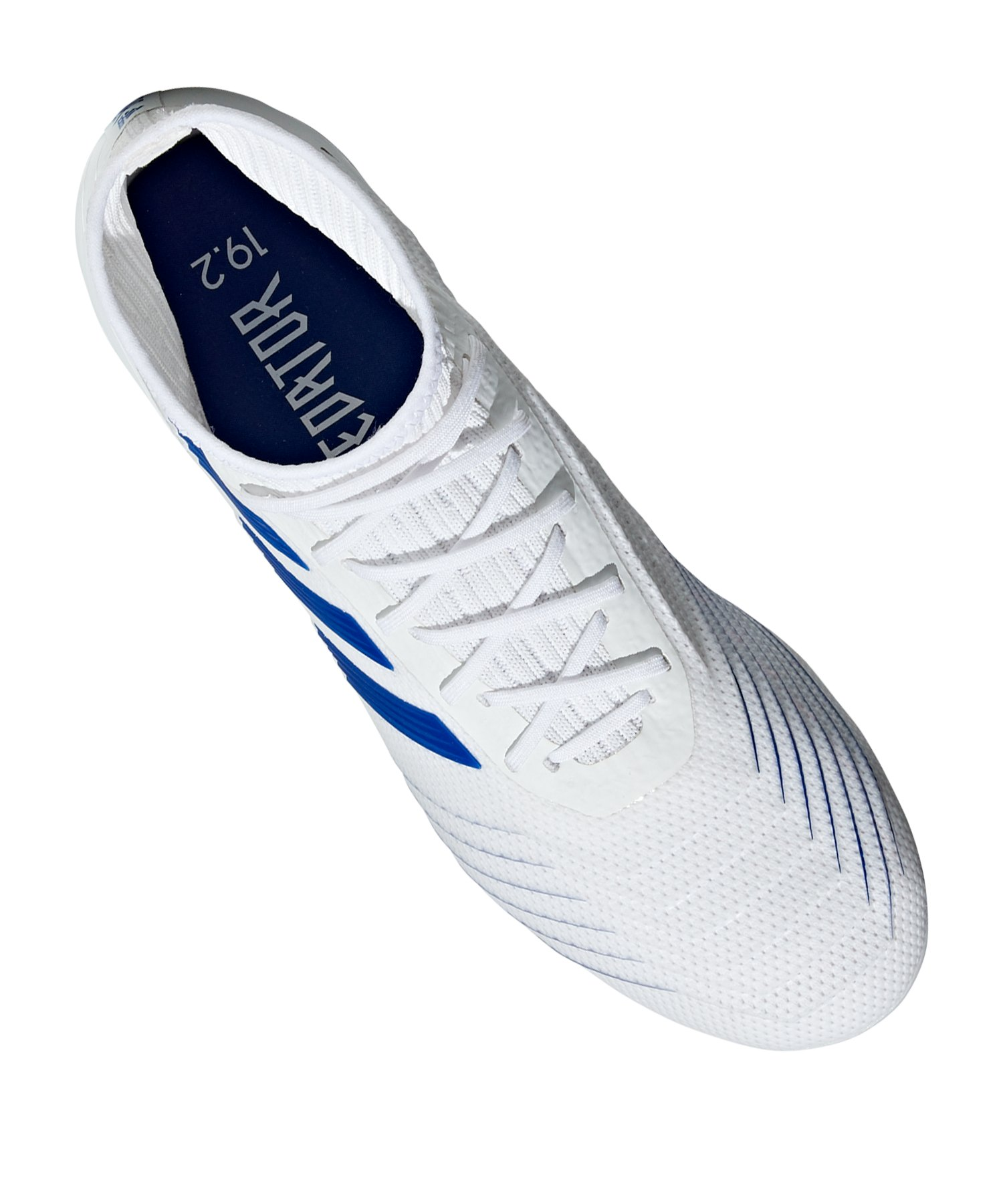 Fg 19 Adidas Weiss Blau Predator 2 dsthQr