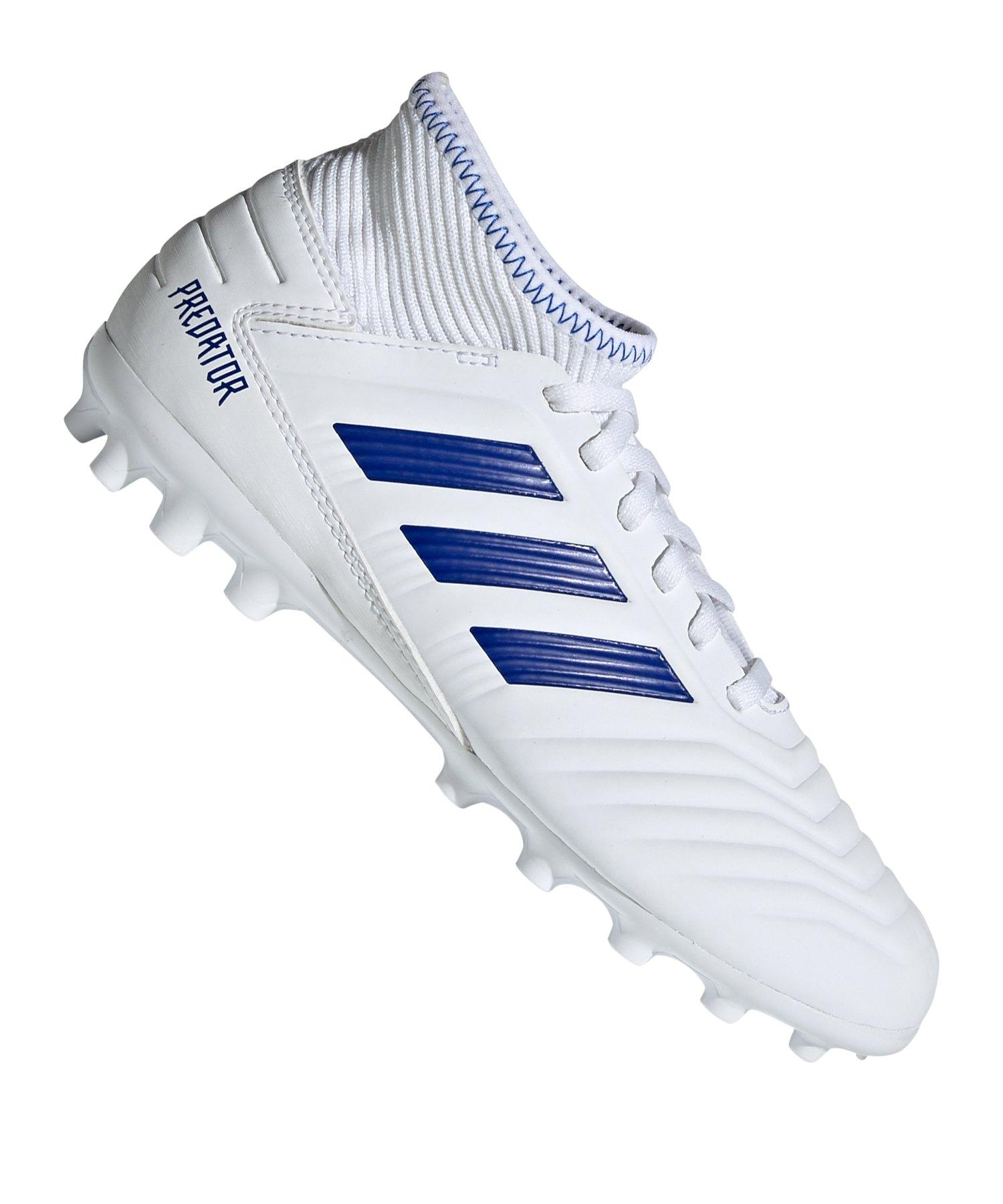 adidas Fußballschuh Predator 19.3 TF Kunstrasen weißblau