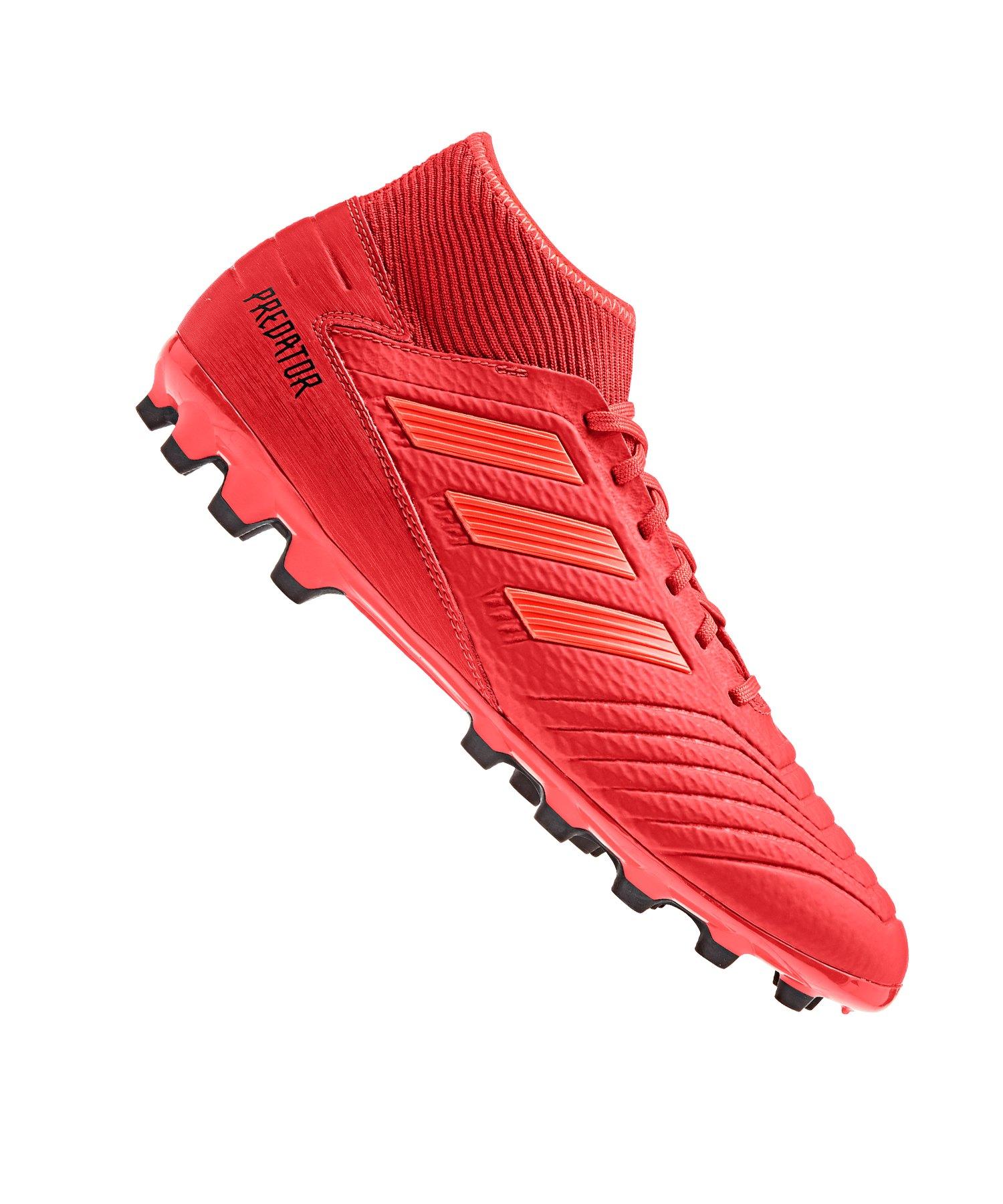 adidas Predator 19.3 AG Rot Schwarz