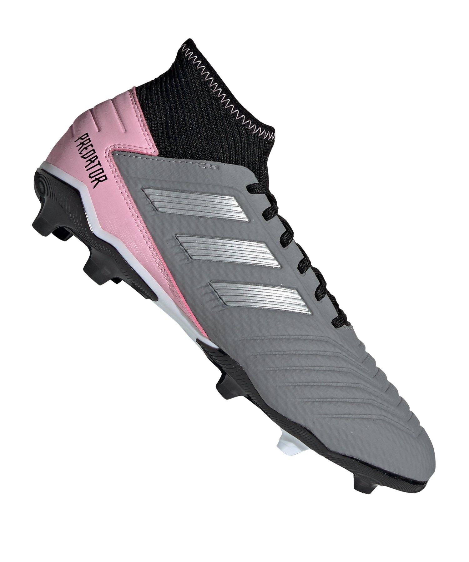check out 1d2cb 0f84a adidas Predator 19.3 FG Damen Schwarz Pink - schwarz