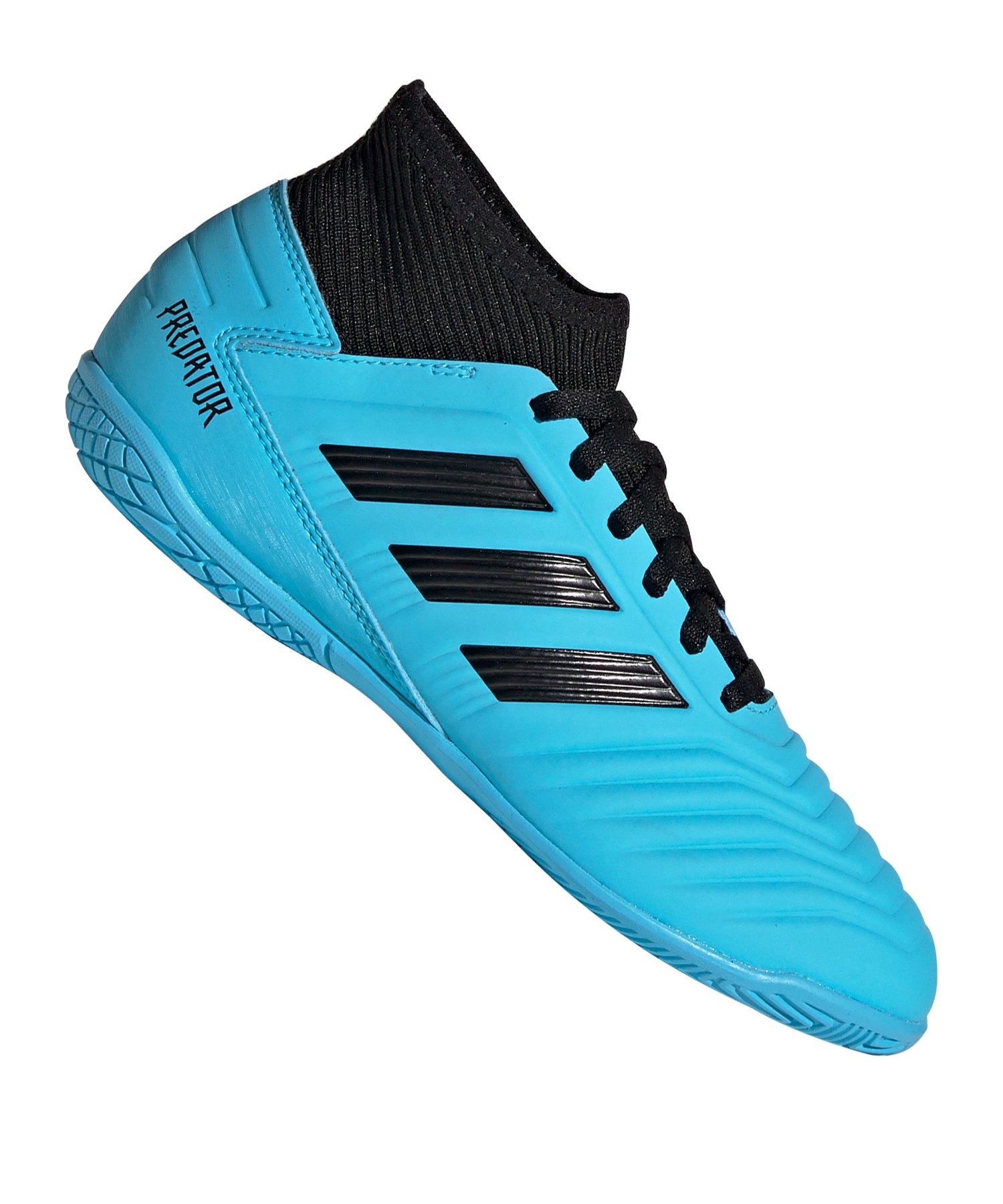 adidas Predator 19.3 IN Halle J Kids Blau Schwarz