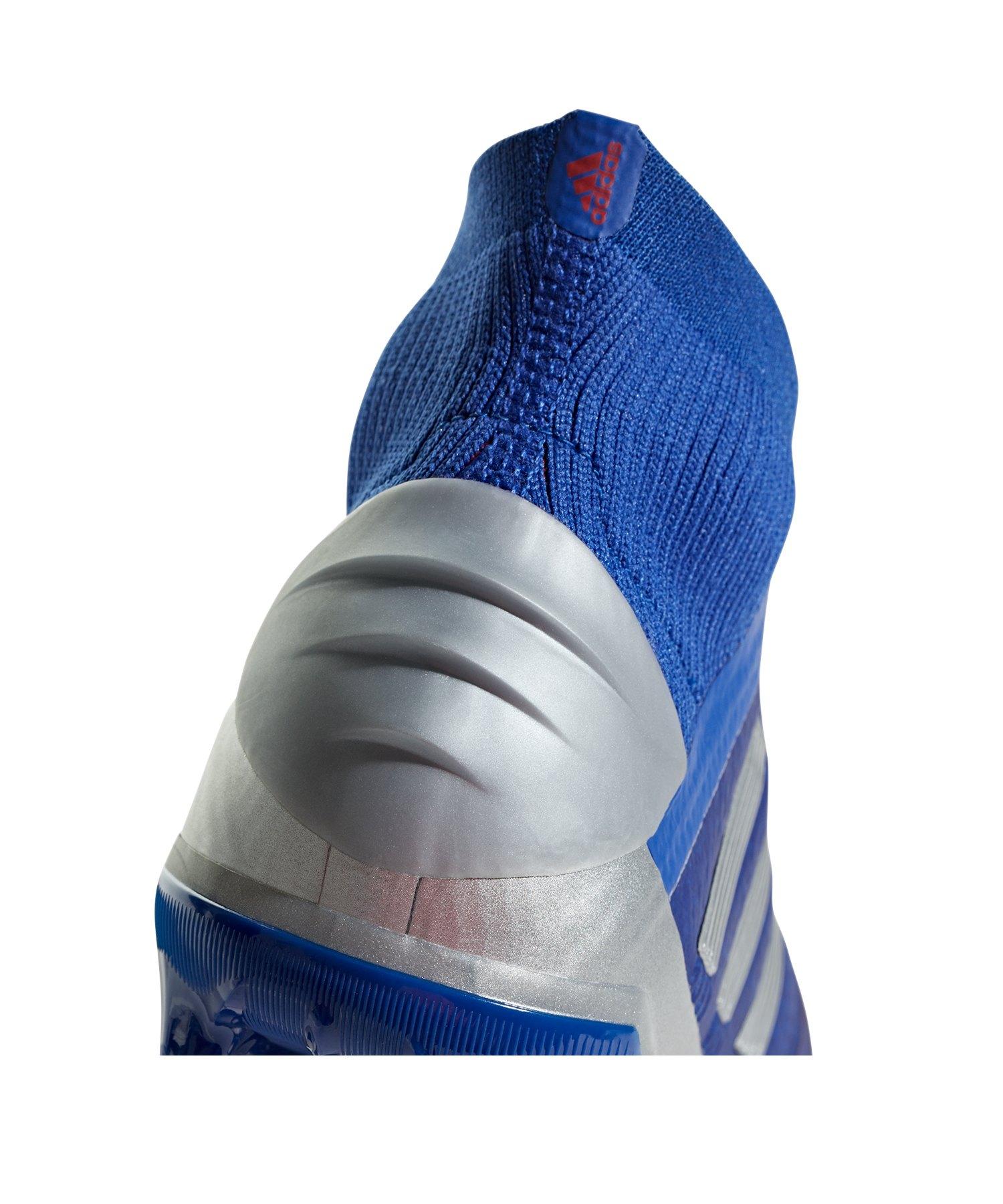 Silber 19Fg J Blau Predator Kids Adidas bYf7y6vg