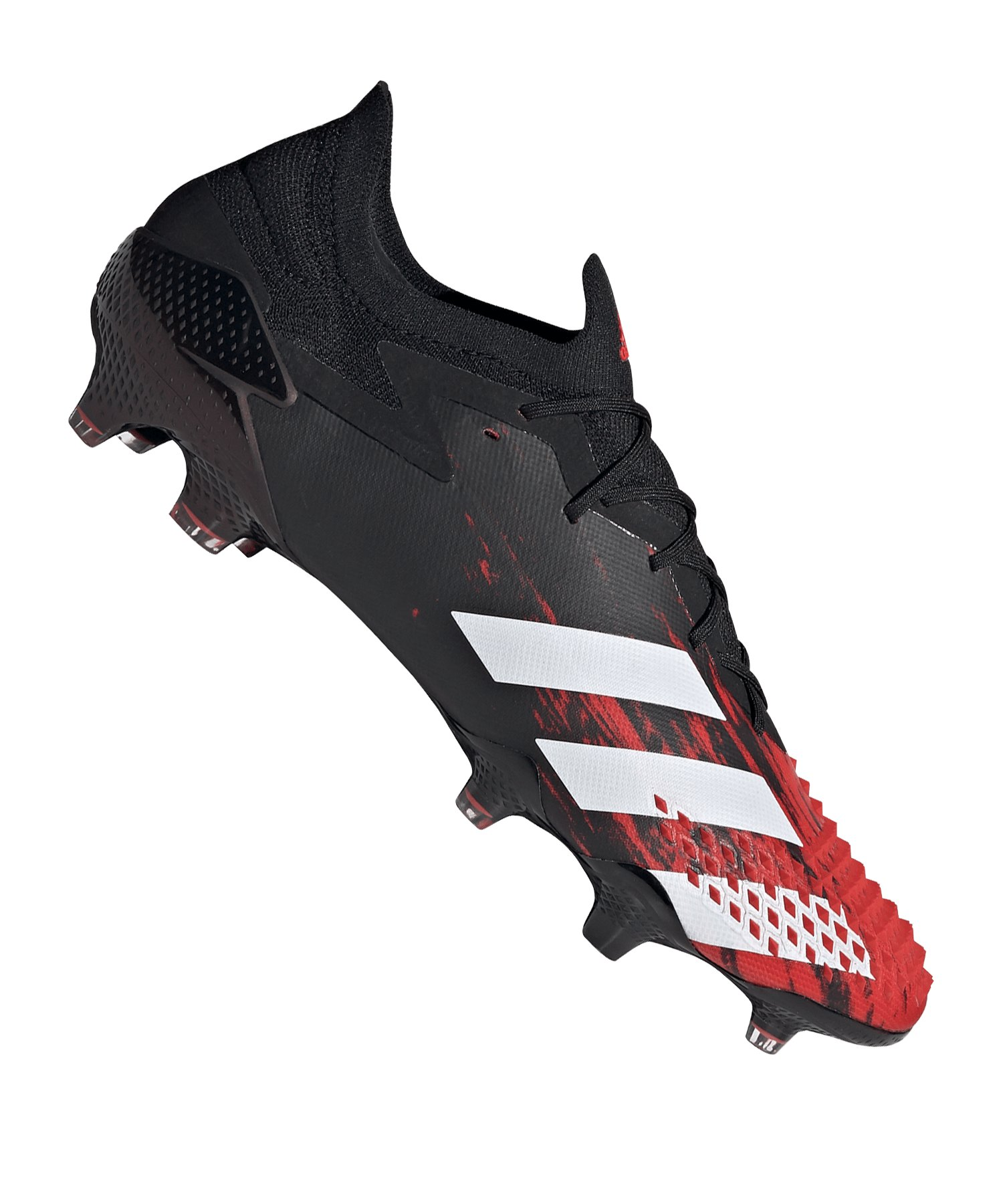 adidas Predator 20.1 L FG Schwarz Rot