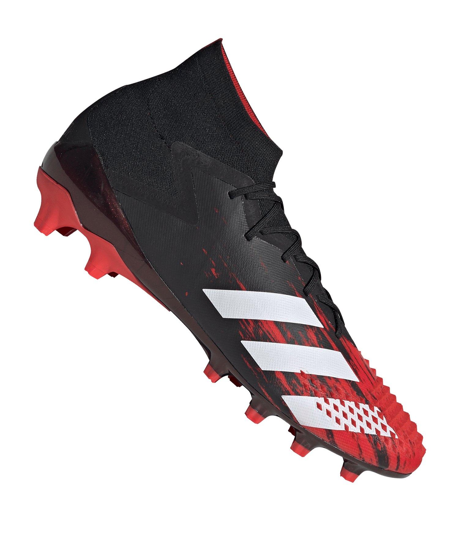 tienda del reino unido la venta de zapatos proveedor oficial adidas Predator 20.1 AG Schwarz Rot   Fußballschuh   Kunstrasen ...