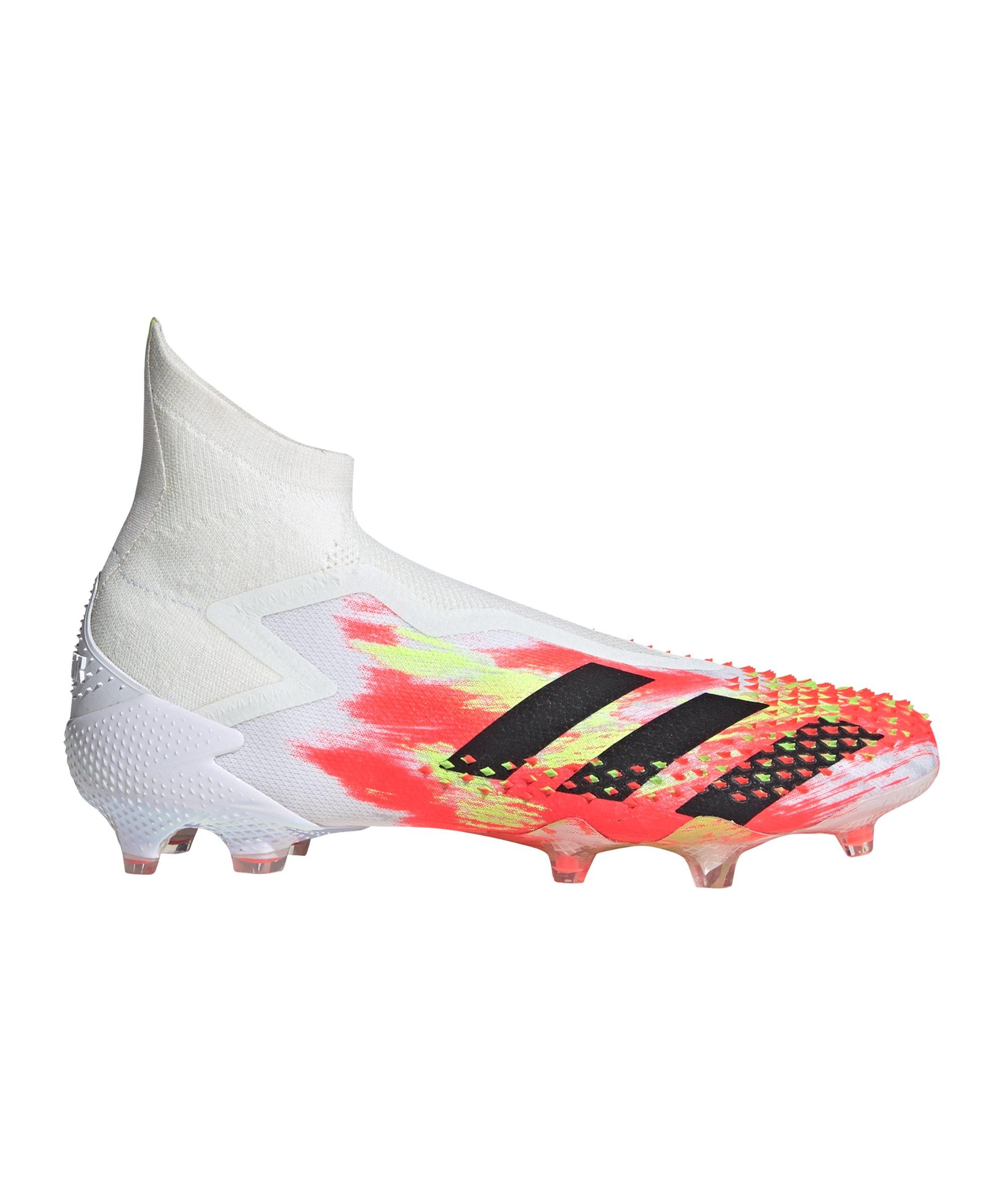 Adidas Predator Uniforia 20+ FG Weiss Rot Gelb