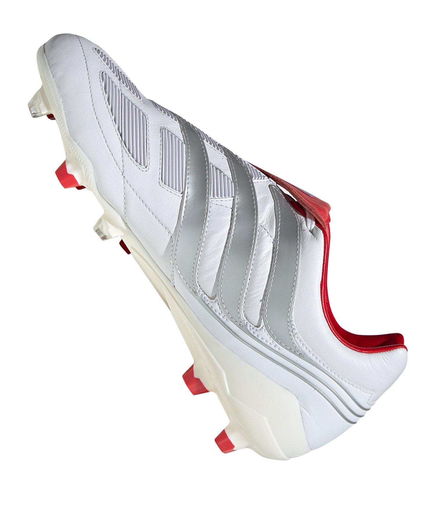 save off aa91b b57b1 ... adidas Predator Precision FG Beckham Weiss - weiss ...