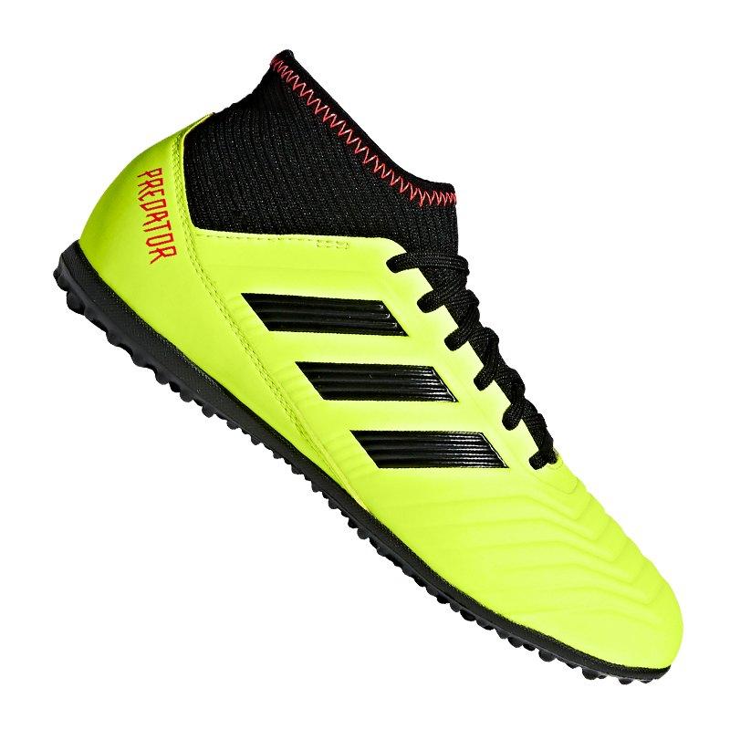 adidas Predator Tango 18.3 TF J Kids Gelb Schwarz
