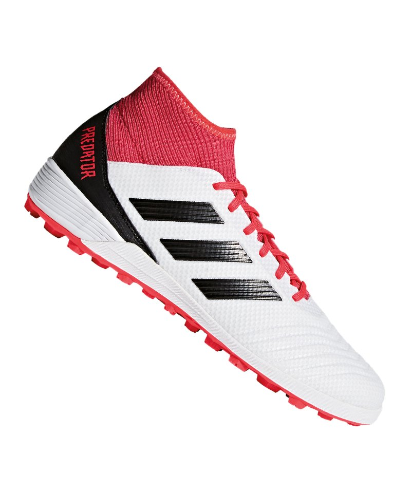 uk store release info on new product adidas Predator Tango 18.3 TF Weiss Rot