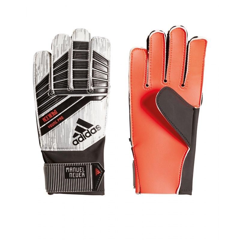 adidas Predator YP Neuer TW Handschuh Kids Silber