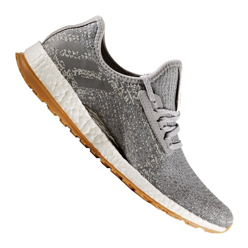 adidas pure boost x atr running damen grau sneaker. Black Bedroom Furniture Sets. Home Design Ideas