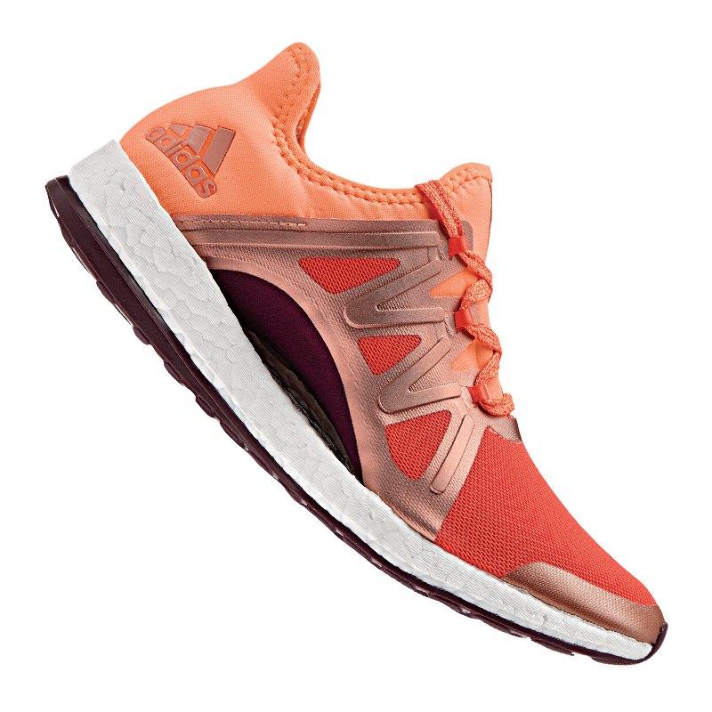 adidas Pure Boost Xpose Running Damen Orange