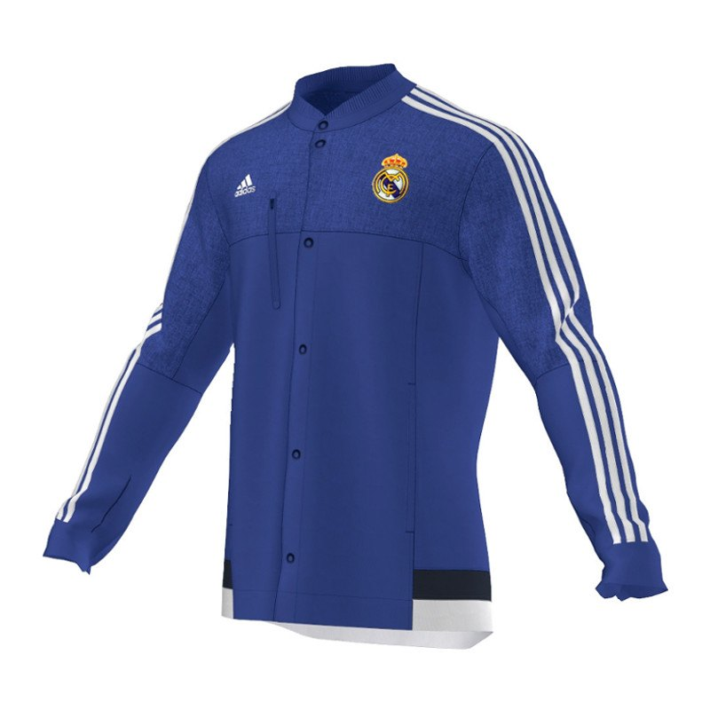 adidas m nner real madrid anthem jacket pictures to pin on. Black Bedroom Furniture Sets. Home Design Ideas