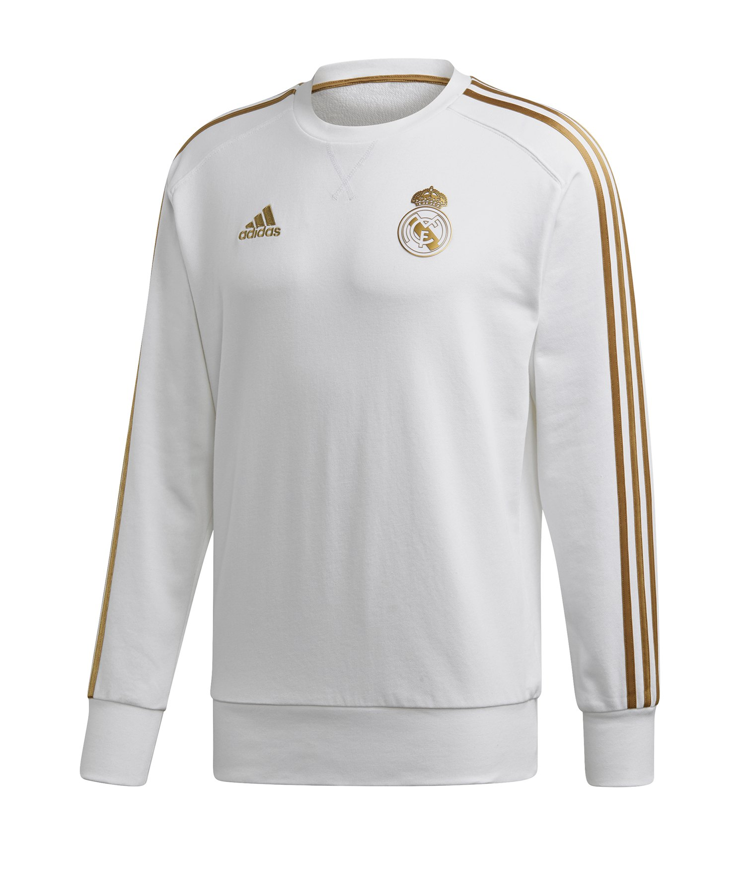 adidas Real Madrid Sweattop Weiss